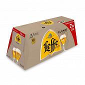 Leffe blonde 21x25cl Vol.6.6%