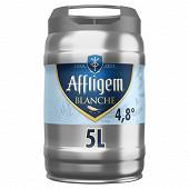 Affligem blanche - Bière blanche d'abbaye Fût 5L Vol.4.8%