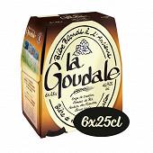 La goudale bière blonde pack 6x25cl 7.2%vol