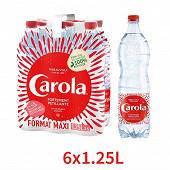 Carola rouge eau pétillante pet 6 x 125 cl