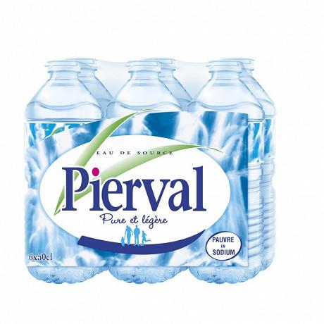 Pierval eau de source 6x50cl