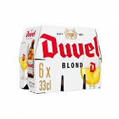 Duvel bière blonde belge 6 x 33 cl Vol.8.5%