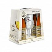 Karmeliet coffret 4 x 33 cl 8.4% Vol. + 1 verre
