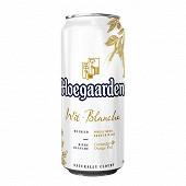 Hoegaarden bière blanche la boite 50 cl 4,9% Vol.