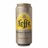 Leffe blonde 6,6% boite 50cl