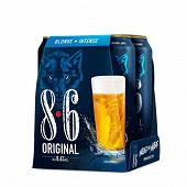8.6 original boîte pack 4x50cl 8.6%vol