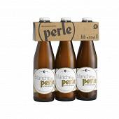 Bière perle blanche 3x33cl 4.8% Vol.