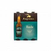Ardwen biere Blanche pack 6x33cl 4,5% Vol.