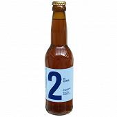 Bière IPA blanche n°2 33cl 5.5% Vol.