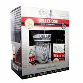 Bellerose coffret 4x33cl + 1 verre 6.5%vol