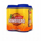 Sombrero pack 4x50cl 5.9%vol