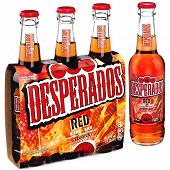 Desperados red bière aromatisée téquila, cachça, guarana 3x33cl 5.9%vol