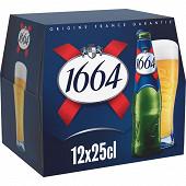 Kronenbourg 1664 - 12x25cl 5.5%vol