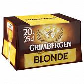 Grimbergen blonde 20x25cl Vol.6.7%