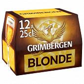 Grimbergen blonde 12x25cl 6.7% vol