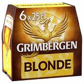 Grimbergen blonde 6x25cl 6.7% vol