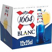 Kronenbourg 1664 Blanc 12 x25 cl 5%vol