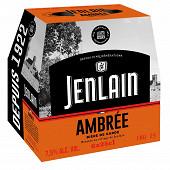 Jenlain ambrée 6x25cl 7.5%vol