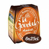 La goudale bière ambrée pack 6x25cl 7.2%