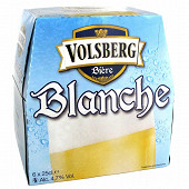 Volsberg bière blanche 6 x 25cl 4.7% vol.