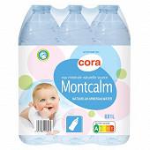Cora eau minérale naturelle source Montcalm 6x1l
