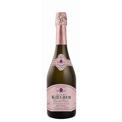 Brut Henry kielber grande cuvée brut rosé 75cl 11.5% Vol.