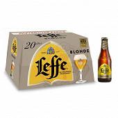 Leffe blonde 20x25cl Vol.6.6%