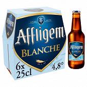 Affligem blanche 6x25cl Vol.4.8%