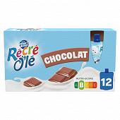 Récré o'lé goûter lacté chocolat 12x85g