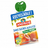 Andros gourde pomme nature ssa 12x90g
