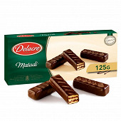 Delacre matadi biscuits gaufrettes chocolat noir 125g