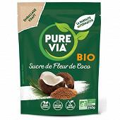 Pure via doypack sucre fleur de coco bio 250g