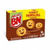 Bn mini chocolat 10 pochons format familial 350g