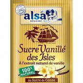 Alsa sucre vanillé des isles 7 sachets  53g