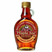 Maple joe pur sirop d'érable du canada bouteille 250 g