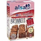 Alsa preparation gateau brownies 305g