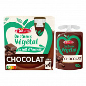Materne onctueux vegetal chocolat 4x85g
