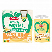 Materne onctueux vegetal vanille de madagascar 4x85g