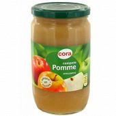 Cora compote de pomme allégée en sucres 710g