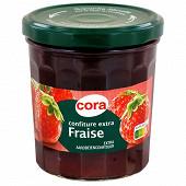 Cora confiture extra fraise 370g