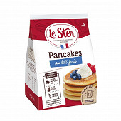 Le ster pancakes au lait frais x8 280g