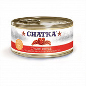 Chatka crabe royal et crabe des neiges de l'Antarctique 30% pattes 70% chair 180g