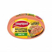 Saupiquet rillettes au saumon et à l'aneth 115g