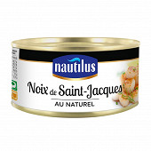 Nautilus noix de Saint-Jacques au naturel  1/4 111g