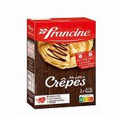 Francine préparation pour pâte à crêpes 380g