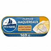 Petit navire filets de maquereaux moutarde sans arômes ajoutés 169g