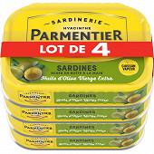 Parmentier sardines olive 135 g lot de 4