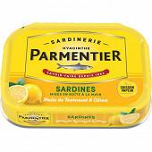 Parmentier sardines huile  tournesol et citron 135 g