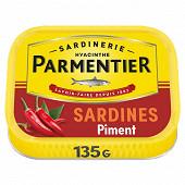 Parmentier sardines à l'huile d'olive et au piment 135 g
