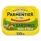 Parmentier sardines huile olive 135 g